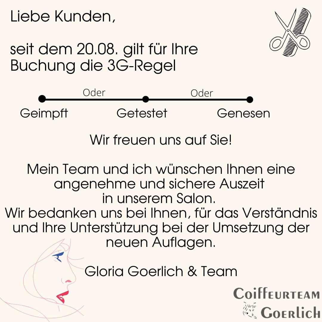 3G Regel Friseur
